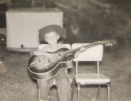 My Mom's Epiphone guitar - 1955